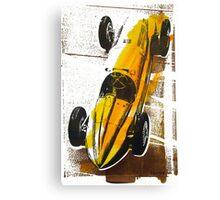 '1930's Mercedes Grand Prix' Vintage Race Car Canvas Print