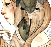 Bats and Bodies Sticker