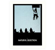 99 Steps of Progress - Natural selection Art Print