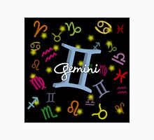 Gemini Floating Zodiac Name Unisex T-Shirt