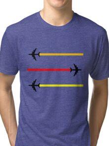 planes pattern 2 Tri-blend T-Shirt