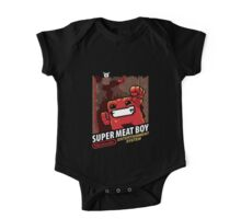 Super Meat Boy for NES One Piece - Short Sleeve