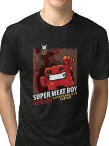 Super Meat Boy for NES Tri-blend T-Shirt