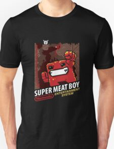 Super Meat Boy for NES Unisex T-Shirt