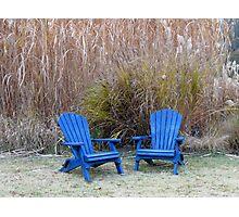 Adirondack Chairs Photographic Print