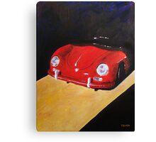 'Speedster Barn Find' 1950's Classic Porsche Canvas Print