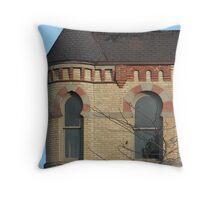 Turret Port Huron Michigan Throw Pillow