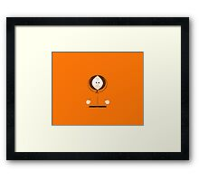 South Park Orange Boy Framed Print
