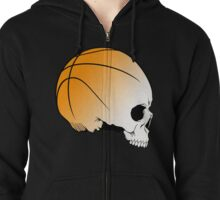 think basket ball side Zipped Hoodie