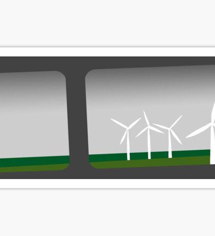 Turbine from a Grey Train Sticker