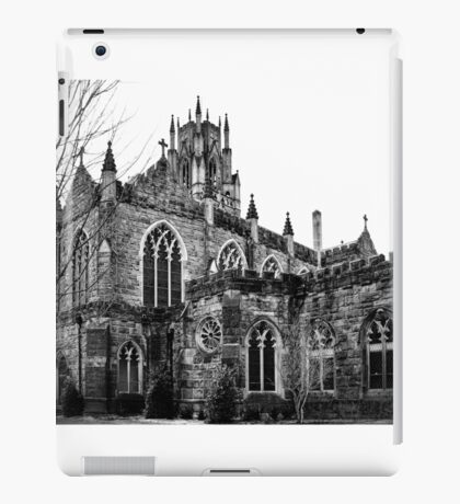 Gothic in Black and White iPad Case/Skin