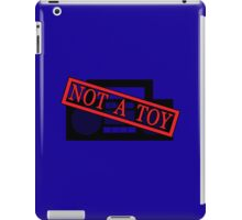 A Boombox is not a toy iPad Case/Skin