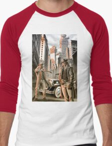 The detectives from other worlds Men's Baseball ¾ T-Shirt