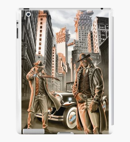 The detectives from other worlds iPad Case/Skin