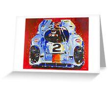 'Porsche Daytona Champion 917' Racing Porsche Greeting Card