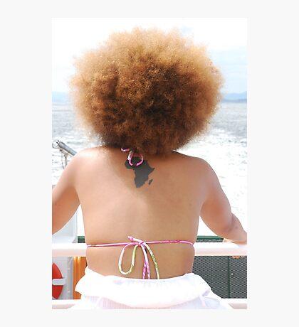 Beautiful Miss Africa Photographic Print