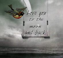 Love you to the moon by Suzanne  Carter