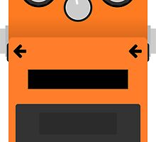 Boss DS-1 Distortion Pedal by d13design