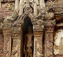 Buddha image, Wat Pa Sak, Chiang Saen,Thailand by docnaus