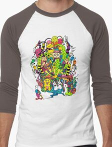 LSD Color Men's Baseball ¾ T-Shirt