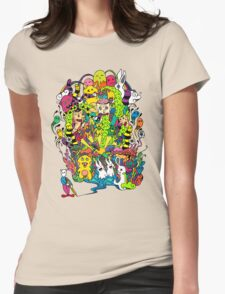 LSD Color Womens Fitted T-Shirt