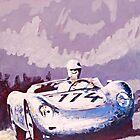 'Porsche 1957 RSK' Vintage Racing Spyder by Kelly Telfer