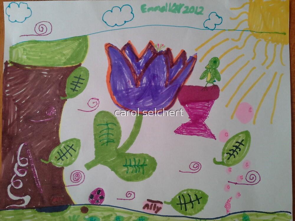 Emma's Art by carol selchert