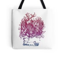 Dreaming Bear  Tote Bag