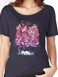 Dreaming Bear  Women's Relaxed Fit T-Shirt