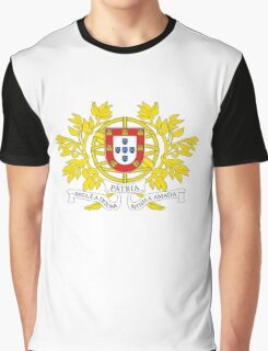 Coat of Arms of Portugal  Graphic T-Shirt