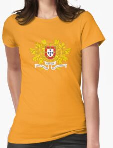 Coat of Arms of Portugal  Womens Fitted T-Shirt