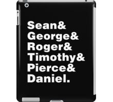 007s iPad Case/Skin