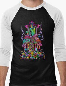 Welcome to Wonderland Men's Baseball ¾ T-Shirt