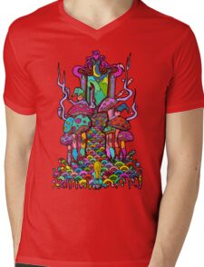 Welcome to Wonderland Mens V-Neck T-Shirt