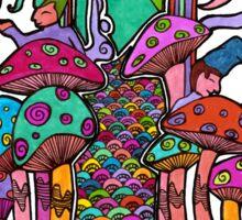 Welcome to Wonderland Sticker