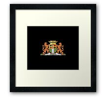 Coat of arms of Rotterdam Framed Print