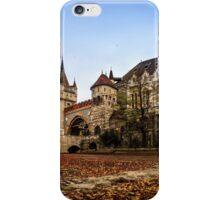 Vajdahunyad Castle in Budapest iPhone Case/Skin