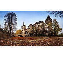 Vajdahunyad Castle in Budapest Photographic Print