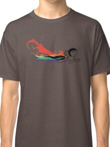 Rainbow Dash Splatter Trail Classic T-Shirt