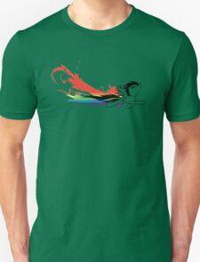 Rainbow Dash Splatter Trail T-Shirt