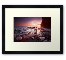 Seaford sunbeams Framed Print