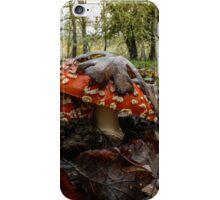 Wild Mushroom #556TH iPhone Case/Skin