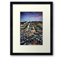 Rocky Road to Nowhere Framed Print
