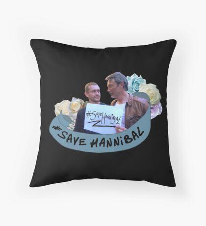 #SaveHannibal Throw Pillow