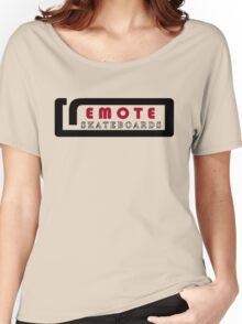 Remote Logo, Original Women's Relaxed Fit T-Shirt