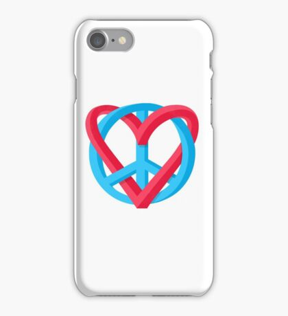 Peace + Love iPhone Case/Skin