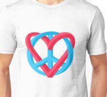 Peace + Love Unisex T-Shirt