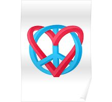 Peace + Love Poster