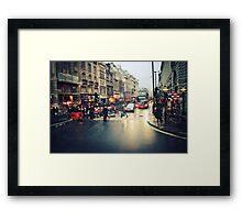 London Chaos Framed Print