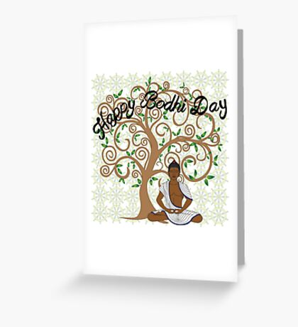 Bodhi Day Greeting Card